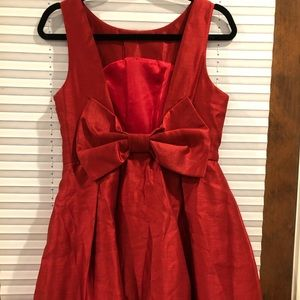 Lulus Back Bow Dress